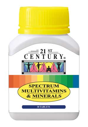 Spectrum Multivitamins & Minerals